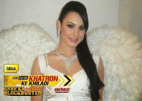 Deana Uppal in Fear Factor Khatron Ke Khiladi