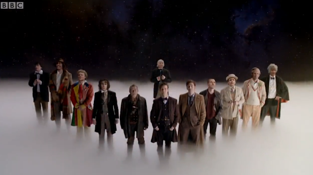 Image: Doctor Who's Day Roundup: The Day of the Doctor: The Twelve Doctors
