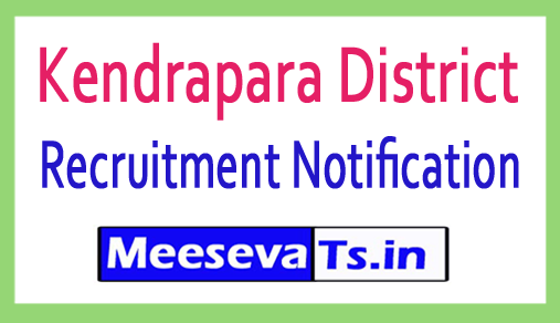 Kendrapara District Recruitment