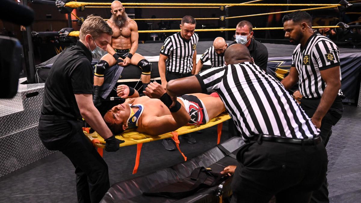 WWE anuncia que Jake Atlas sofreu lesão no último NXT
