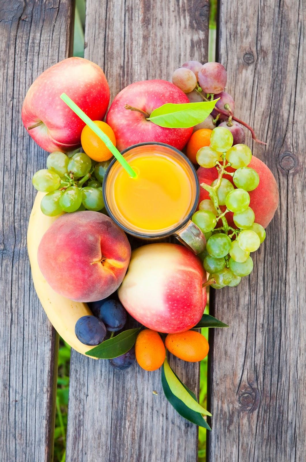 Homemade Summer Fruit Juice | Raw Edibles