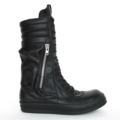 rick owens cargobasket sneakers hi-tops dunks