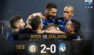 Inter Menang 2-0 atas Atalanta, Geser Posisi Juve di Klasemen Serie A