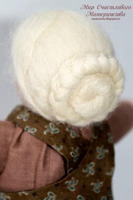 троицкая шерсть для кукольной прически