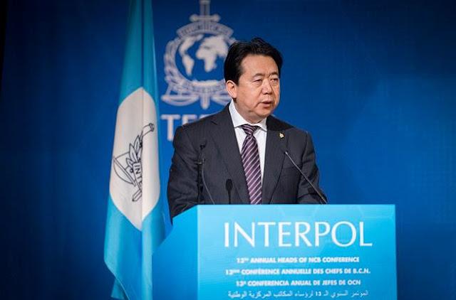 Ông Mạnh Hoành Vĩ, Chủ tịch Interpol, Thứ trưởng Bộ Công an Trung Quốc