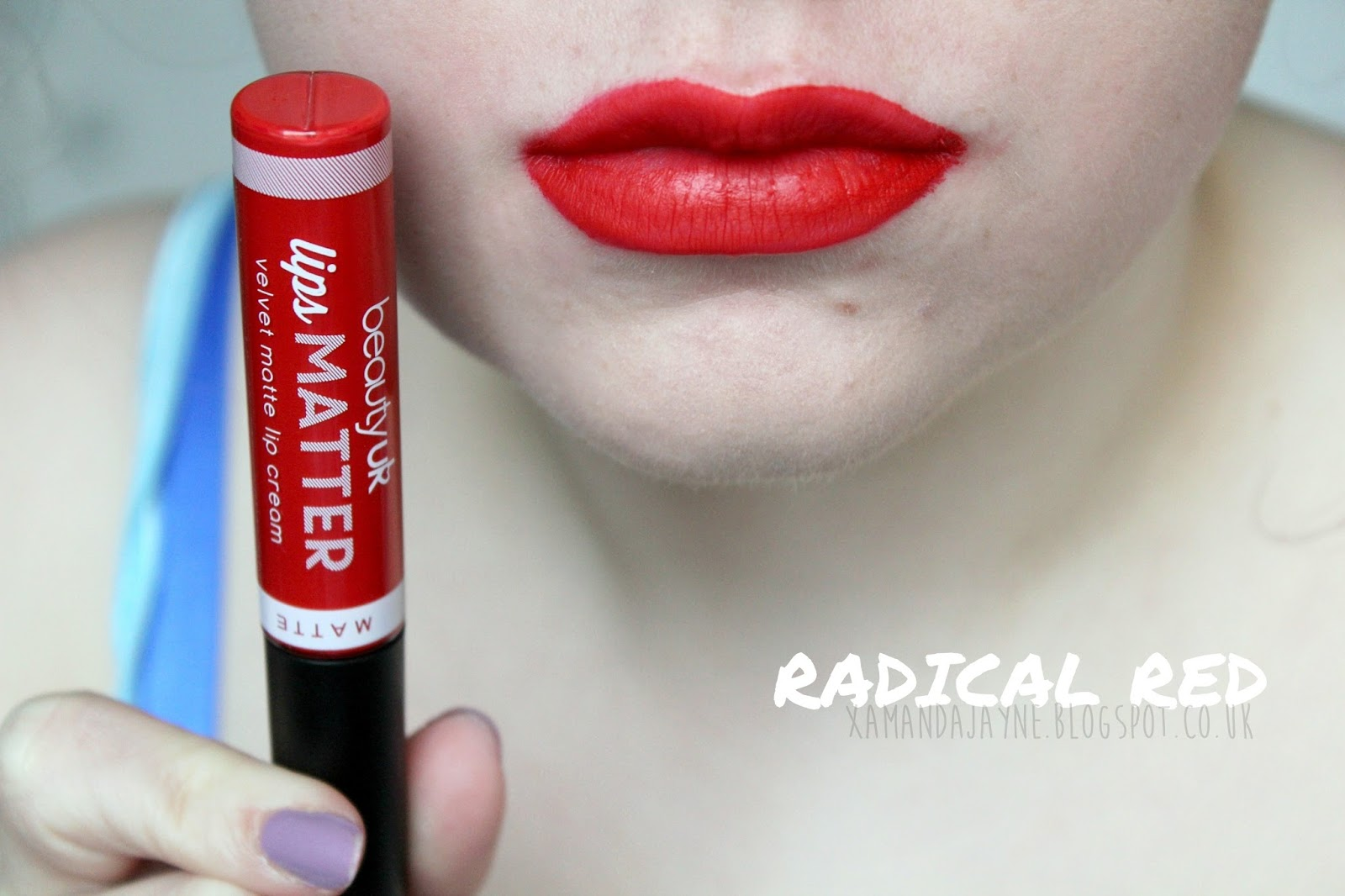 beautyuk, beauty uk, lips matter, review, swatches, lip swatches, mauve your body, wham bam thank you jam, bond mrs bond, shake your plum, radical red
