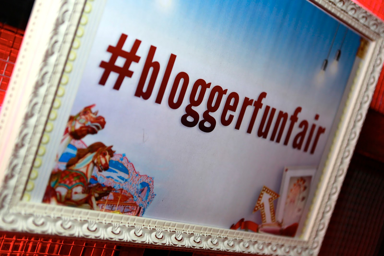 Georgie Minter-Brown blogger actress blog Joe Browns Bloggers Funfair event