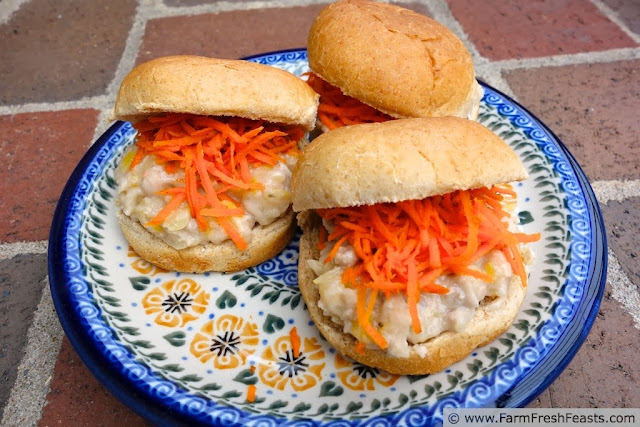 Pickled Pork and White Bean Sliders | Farm Fresh Feasts