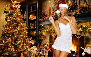 Christmas Girls HD Picture Wallpaper