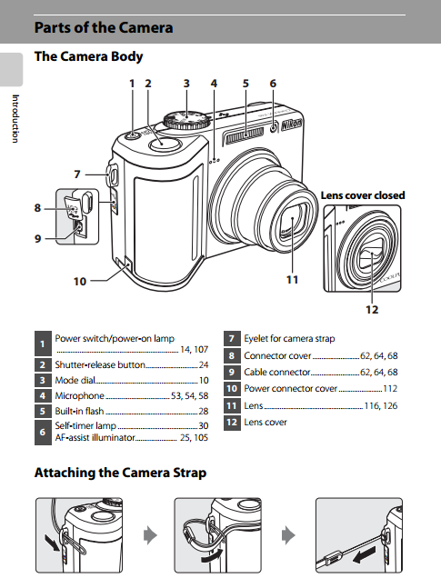 Part of Nikon Coolpix P60