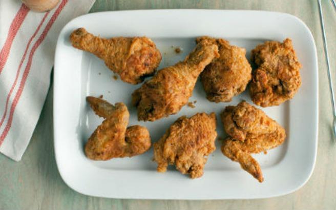 Τηγανητό Κοτόπουλο στο Φούρνο