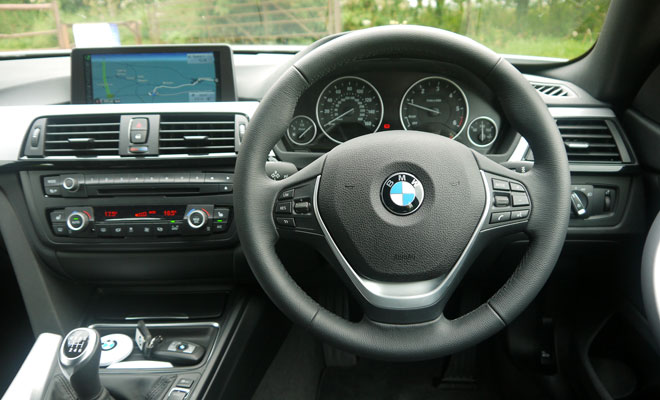 BMW 4-Series Gran Coupe cockpit