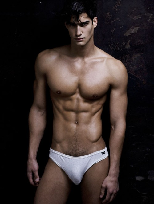 Sexy Abs Of Male Models  Fashion Of Mens Underwear-5281