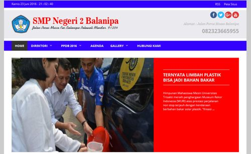 Tutorial Gratis Download Template Web Sekolah