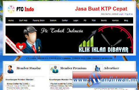 Situs PTC Lokal Terbaru Terpercaya Yang Terbukti Membayar Membernya