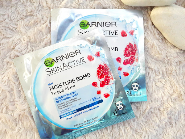Garnier Moisture Bomb Tissue Mask - Review
