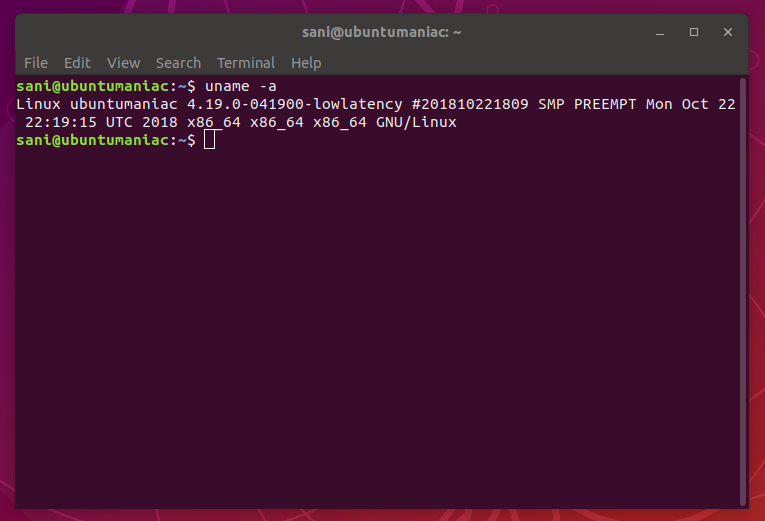 How to : Update Kernel 4 19 stable on Ubuntu / Linux Mint