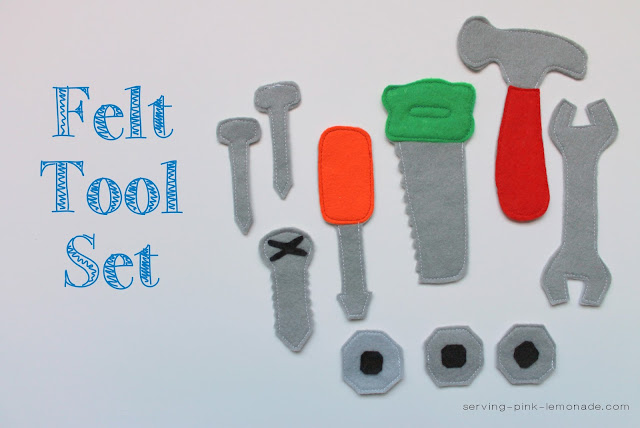 Felt Tool Set (Free Pattern Included)