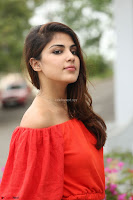 Rhea Chakraborty in Red Crop Top and Denim Shorts Spicy Pics ~  Exclusive 127.JPG