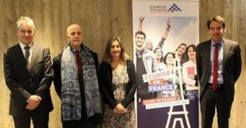 Estudiantes universitarios participan en primera Jornada Perú en Francia