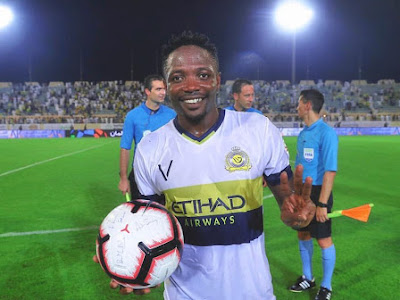 Ahmed Musa Delighted As He Scores His First Hattrick For His New Club, Al Nassr