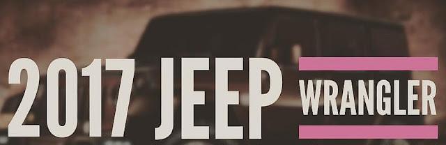 Jeep Wrangler Years 2017