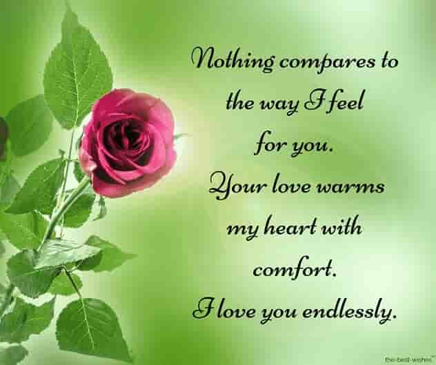 i love you endlessely long text message for him