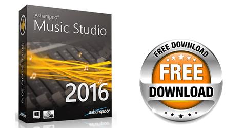 Δωρεάν Ashampoo Music Studio 2016