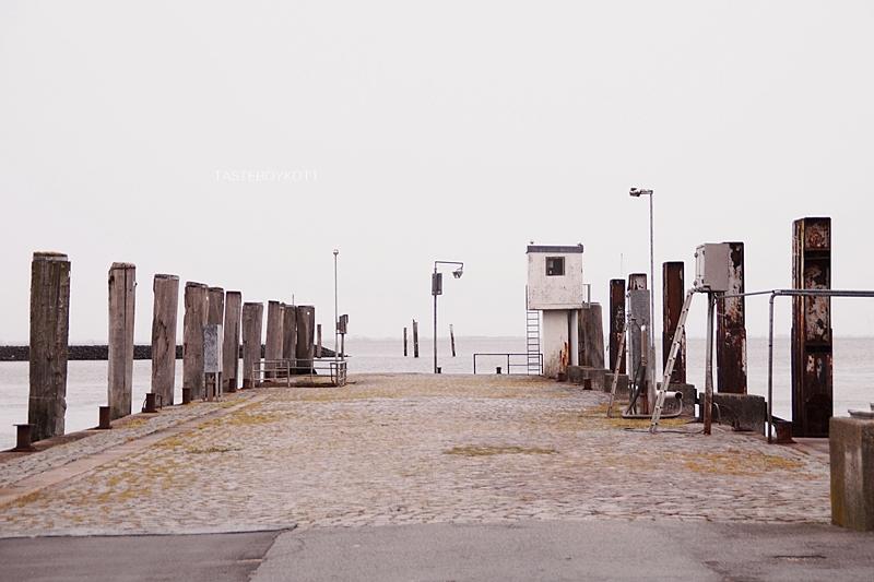 Nordsee Hafen in Wyk auf Föhr