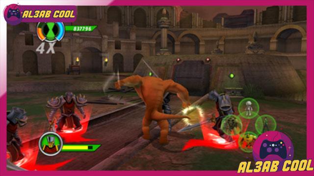 تحميل لعبة Ben 10 Ultimate Alien Cosmic Destruction من ميديا فاير