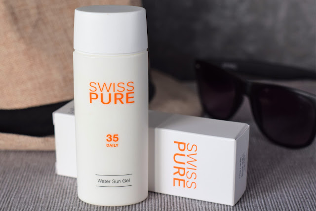 RECENZJA - SWISS PURE - WATER SUN GEL - SPF 35