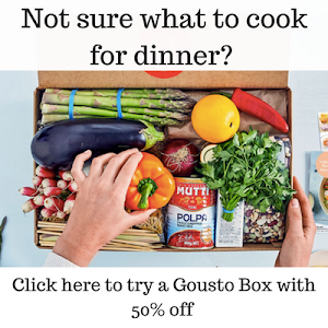 50% off 2 Gousto Boxes