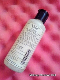 Khadi Silver Moon Scrub with Sandal Review