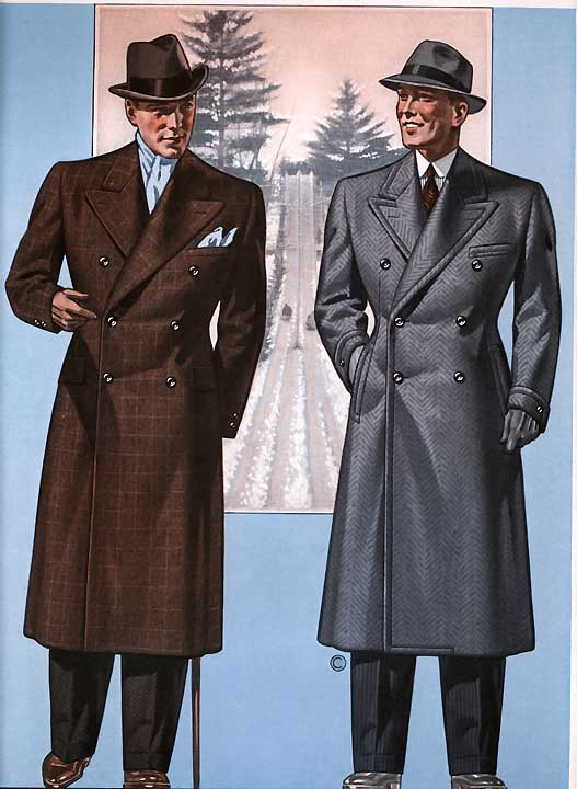 Men S Fashion 1930s: The Houndstooth Kid: An Intro To Overcoats