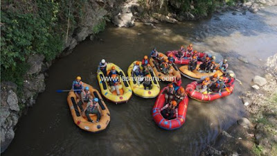 rafting di batu pacet malang probolinggo