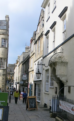 A lane in Bath