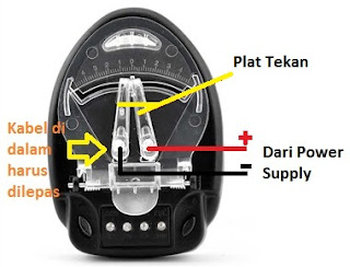 charger baterai hp manual (cas kodok)