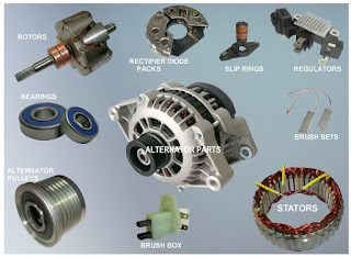 memang komponen alternator ini memiliki fungsi yang sangat amat penting untuk kendaraan s Ciri Alternator Mobil  Mengalami Kerusakan