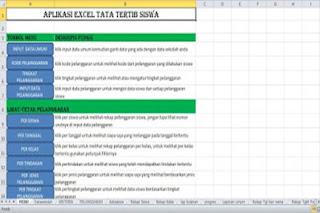 Contoh Format Tata Tertib Sekolah Lengkap dalam Excel