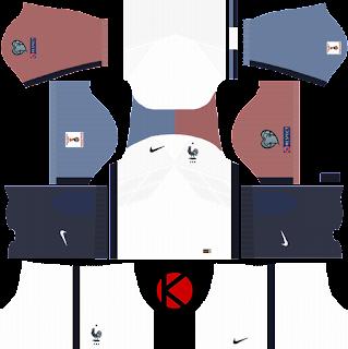 France Nike Kits 2017 - Dream League Soccer