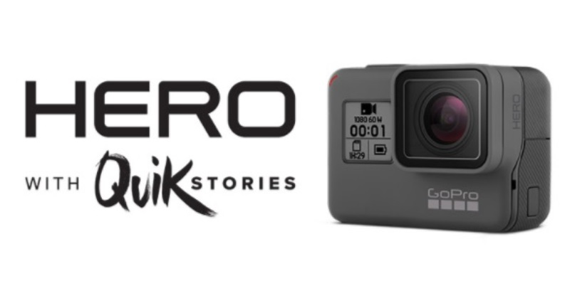 GoPro Unveils HERO 2018 Entry-level Action Camera