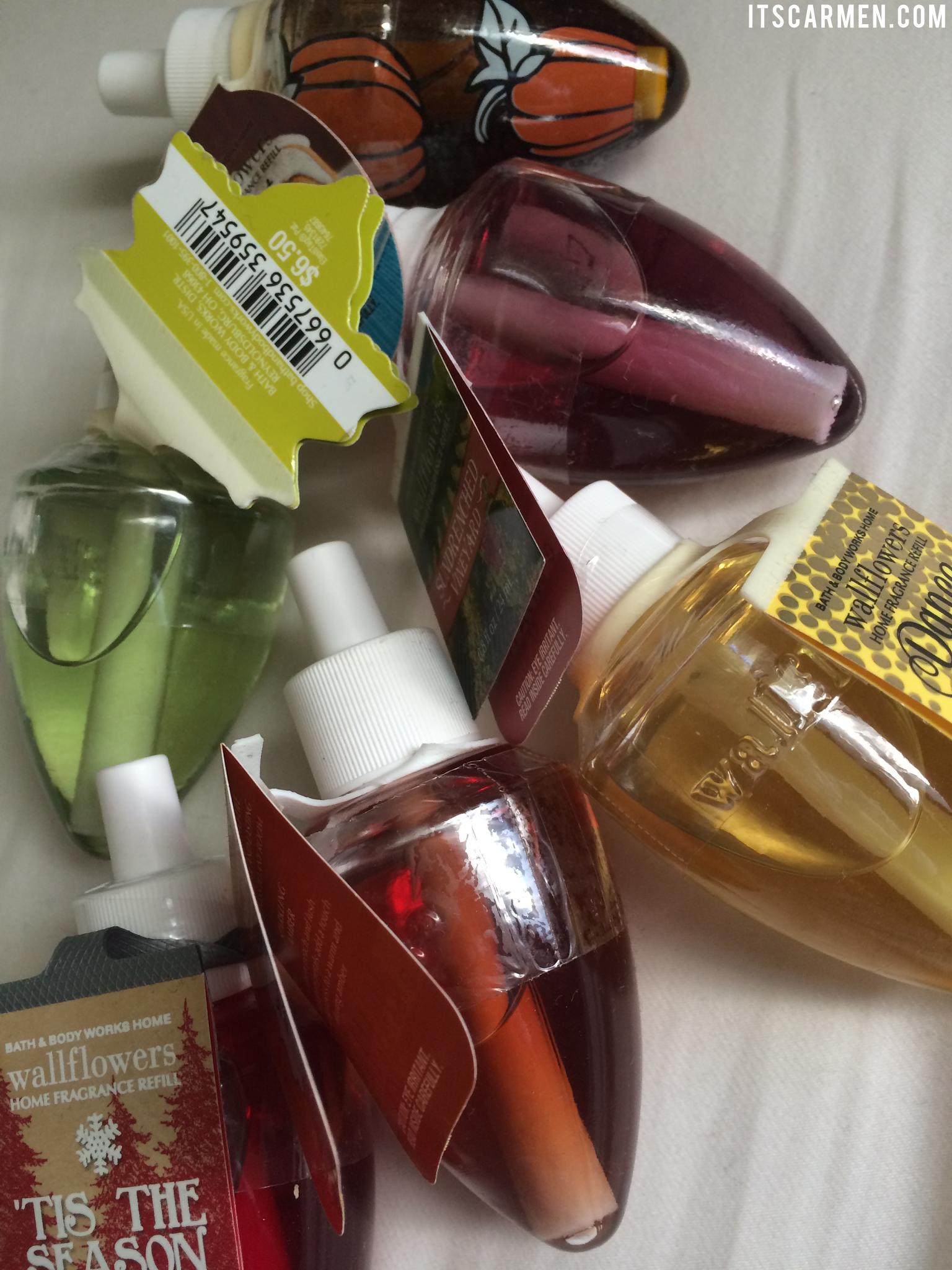 bath & body works wallflower review