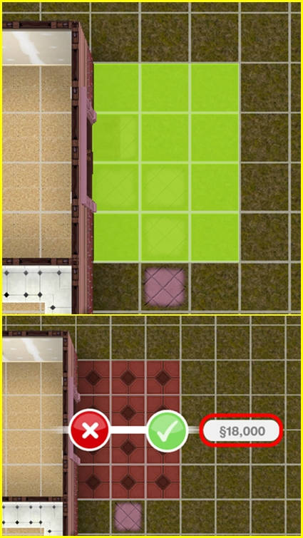 Sims Freeplay Back To The Wall : freeplay, Build, Patios, Freeplay, FREEPLAY, GUIDE