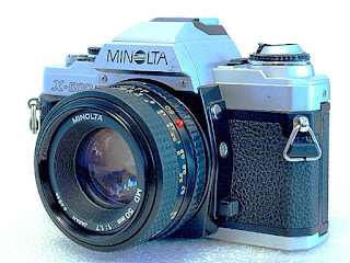 Minolta X-500, Front right