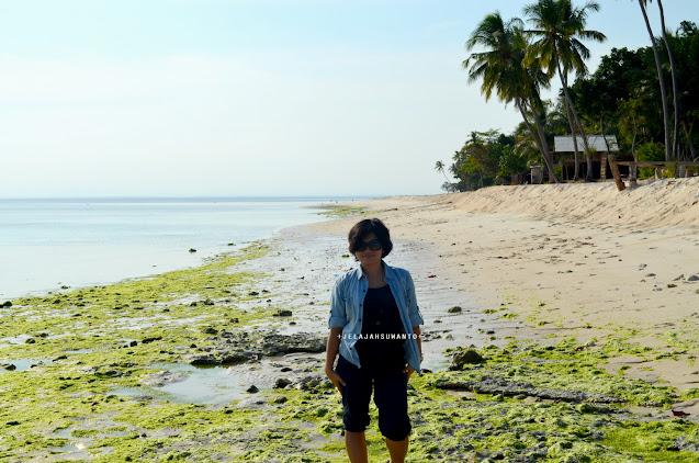 Pantai Lemo-Lemo Bulukumba  saat surut