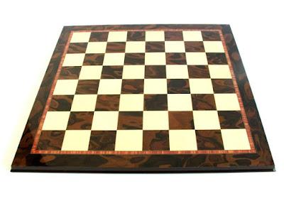 Italian Prestige Burl Root Chess Board