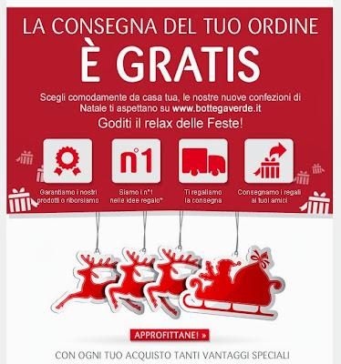 Bottega verde regali natale 2013 in consegna gratis for Cerco regali gratis