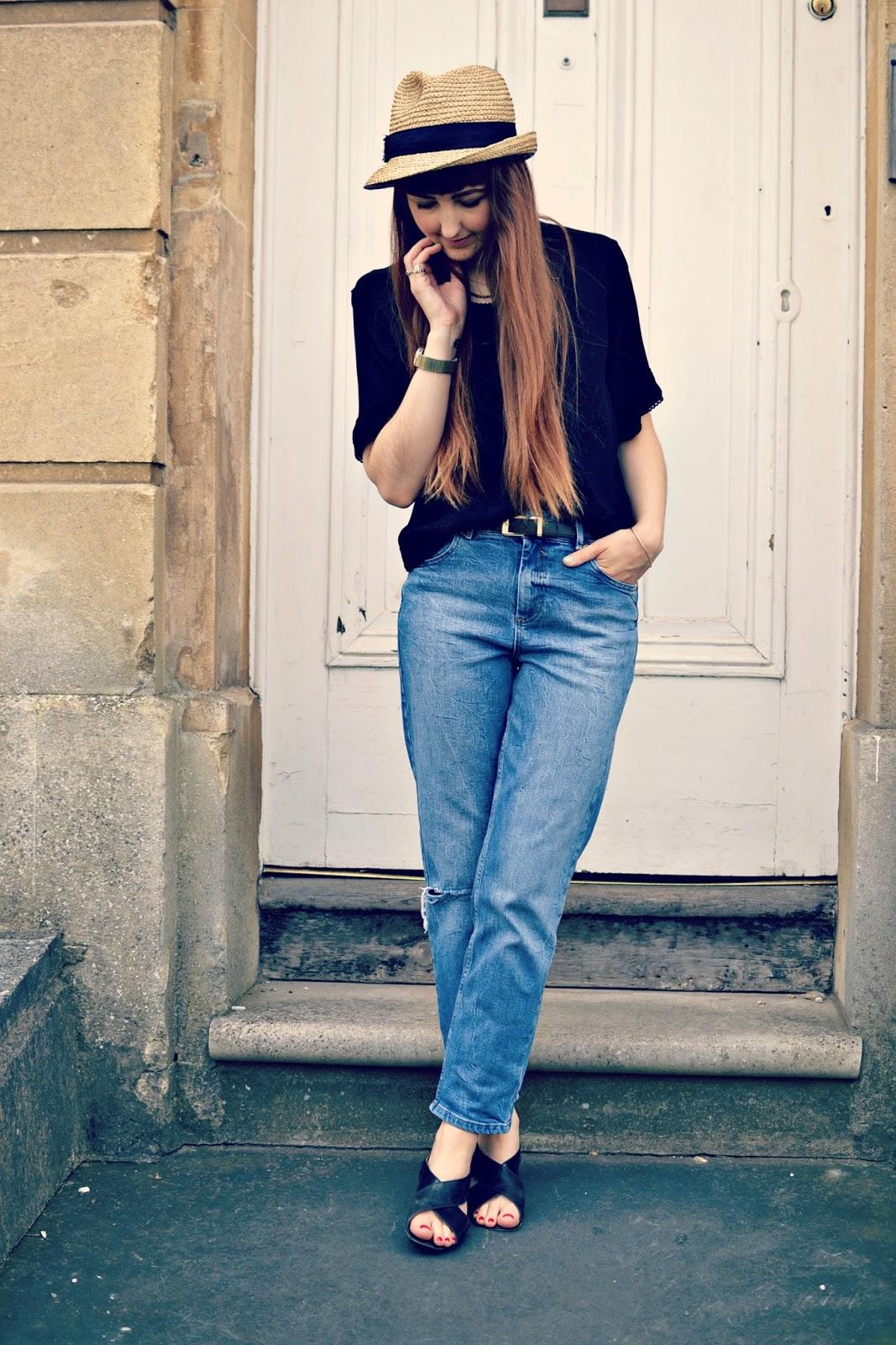 vintage outfit post, vintage ootd