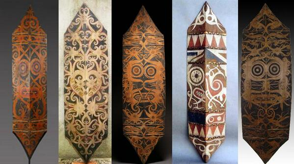 Talawang, Tameng Atau Perisai Tradisional Khas Suku Dayak