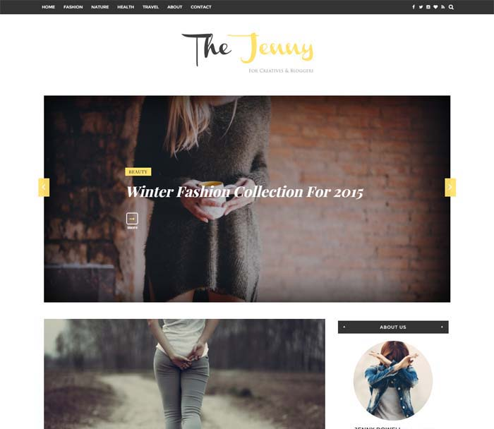 Best Free Blogger Templates 2018 New Blogspot Themes - fashion blogger templates